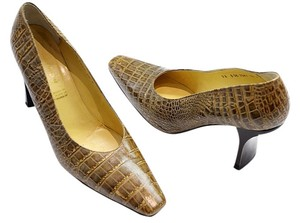 Robert Clergerie brown Pumps