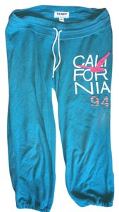 Old Navy California Lounge Athletic Pants Turquiose