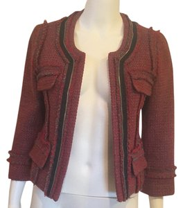 Hinge Red Blazer