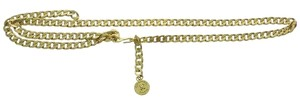 Chanel Authentic Vintage Chanel Gold-Tone Double Strand Medallion Chain Belt