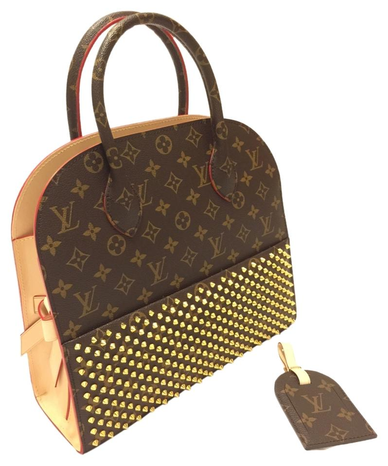 a5589ab90b70 Louis Vuitton Iconoclast Christian Louboutin Louboutin Shopping Lv Monogram  Limited Collectors Tote in Red Image 0 ...