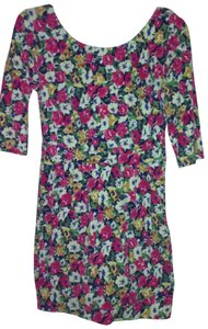 shop bop short dress multi floral on Tradesy
