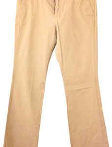 Banana Republic Long Low-rise Khaki/Chino Pants Stone (tan/light khaki)