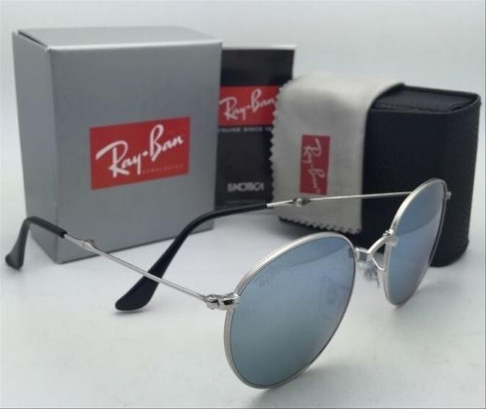 cac5fb249344d Ray-Ban Rb 3532 003 30 50-20 Silver Frames W  Silver Mirror Folding 003 30 W   Lenses Sunglasses - Tradesy