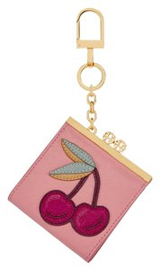 Tory Burch NWT TORY BURCH Pink Cherry Pouch Key Fob