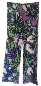 Lilly Pulitzer Relaxed Pants Blue, purple, multi
