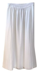 Mango Maxi Skirt White