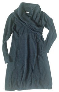 Athleta short dress Navy/Grey Sweater on Tradesy