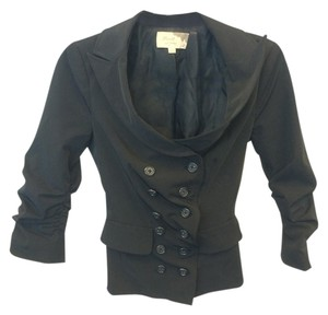 Elizabeth and James Black Blazer