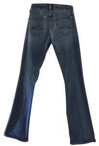 7 For All Mankind Pettite Kimmie Boot Cut Jeans-Medium Wash