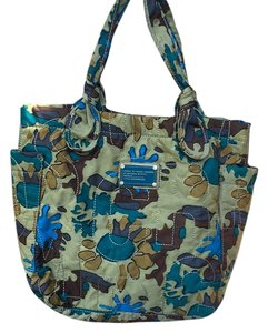Marc by Marc Jacobs Jacbos Tote in Green Blue Camoufladge