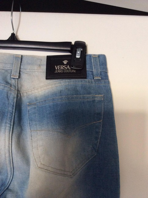 Versace Couture Flare Leg Jeans-Light Wash
