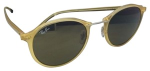 Ray-Ban New RAY-BAN Tech Series Sunglasses RB 4242 6199/73 49-21 Yellow Frames w/ Brown Lenses