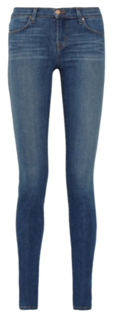 Item - Pacifica Blue Medium Wash Net-a-porter Exclusive Collection Skinny Jeans Size 26 (2, XS)