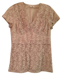 Banana Republic Lace Top Creme
