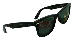 Ray-Ban New Ray-Ban Sunglasses RB 2140 902 50-22 WAYFARER Tortoise Frame w/ Green Lenses