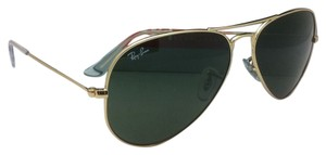 Ray-Ban New Ray-Ban Sunglasses RB 3025 L0205 58-14 LARGE METAL Gold Aviator Frames w/G-15 Lenses
