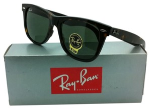 Ray-Ban New Ray-Ban Sunglasses RB 2140 902 54-18 WAYFARER Tortoise Frame w/ Green lenses