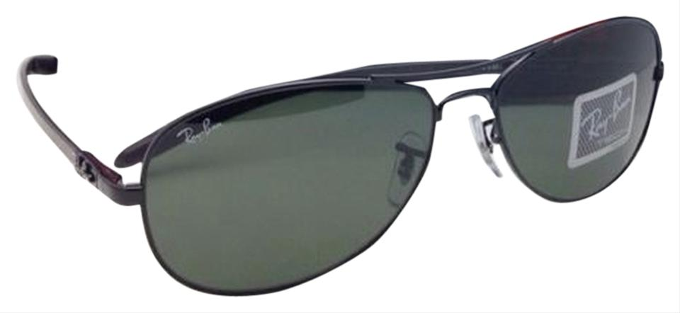 046747009ccc Ray-Ban Rb 8301 002 Tech 59-14 Black   Carbon Fiber W  Crystal Green ...