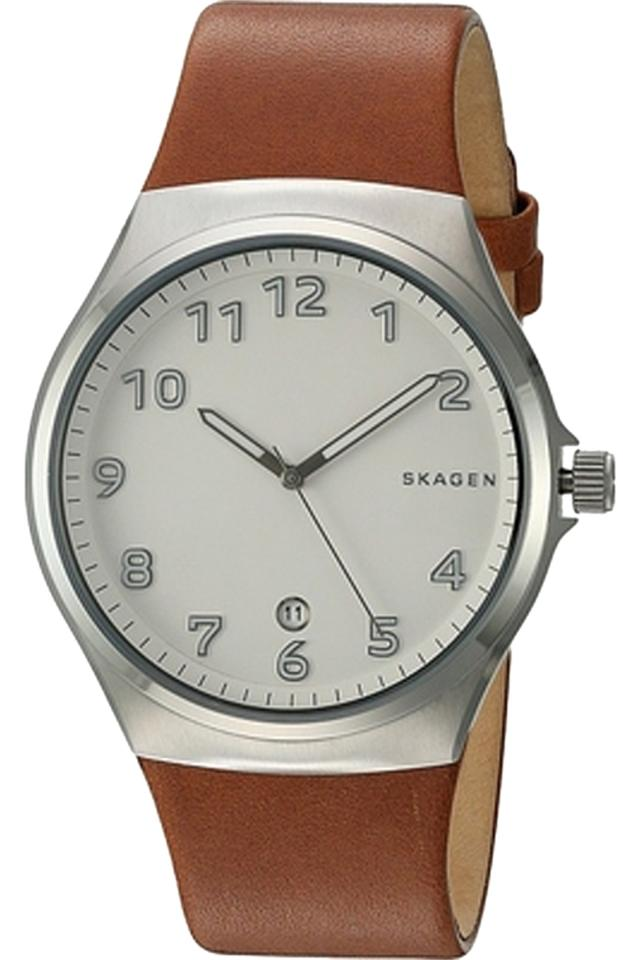 8a79d53c0c Skagen Denmark Brown Skw6269 Sundby Men's Analog Watch - Tradesy