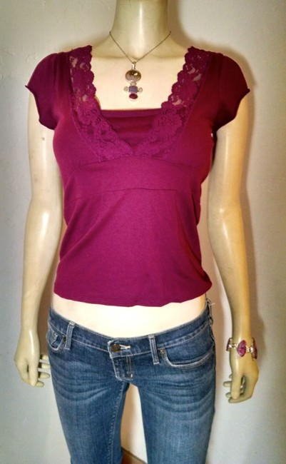 Old Navy P925 Fuscia Small Summersale Top Fuscia Pink