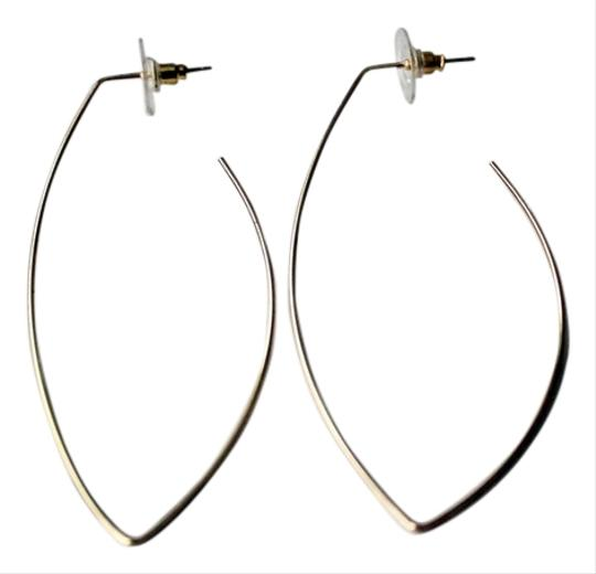 Colette NY Slim Arc Gold Plated Earrings