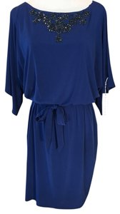 Trina Turk short dress Cobalt Blue on Tradesy