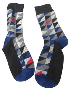 Pair of Thieves Boot Socks Blue Black