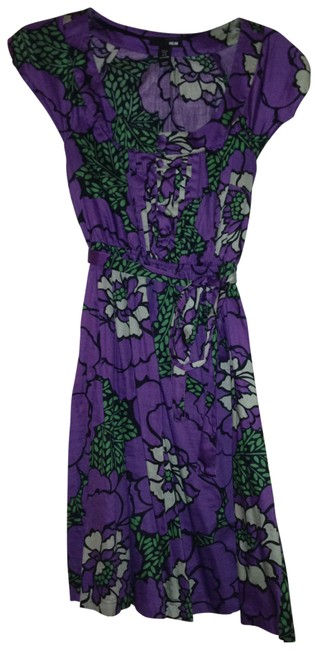 Preload https://item3.tradesy.com/images/h-and-m-purple-knee-length-short-casual-dress-size-10-m-138557-0-0.jpg?width=400&height=650