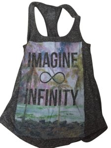 Zumiez Infinity Imagine Top Gray Purple