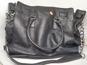 Michael Kors Lg Hamilton Tote in Black
