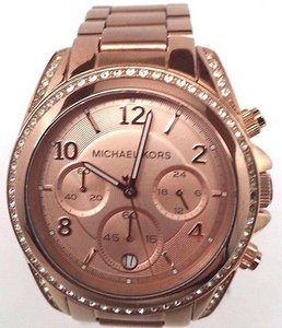 Michael Kors Michael Kors Blair Rose Gold-tone Chronograph Ladies Watch Mk5263