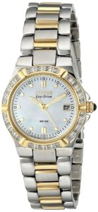 Citizen Citizen Eco-drive Ew0894-57d Riva Two-tone Diamond Ladies Watch