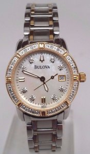 Bulova Bulova Ladies Diamond Dress Watch 98r107