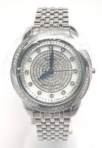 Bulova Bulova Precisionist Diamond Ladies Stainless Steel Quartz Watch 96r154