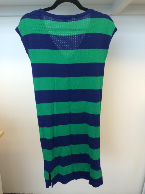 Lacoste short dress Blue and Green on Tradesy