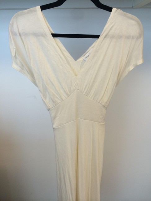 Cream White Maxi Dress by Paul & Joe