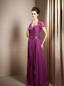Jasmine Bordeaux J155003 Dress