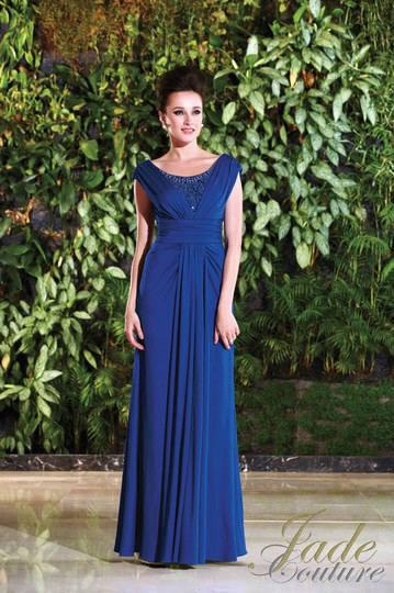 Lapis Matte Jersey K168001 Formal Dress Size 12 (L)