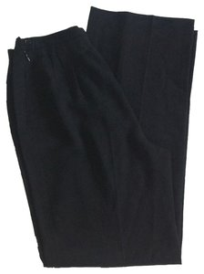Max Mara Virgin Wool Trouser Pants Black