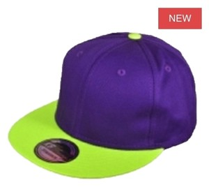 Ivysclothing.com Purple/Highlighter Yellow SnapBack