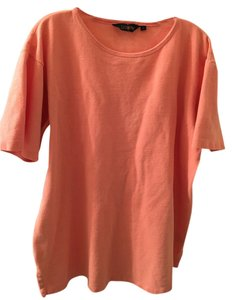 J.Crew Relaxed Unisex Vintage T Shirt Orange