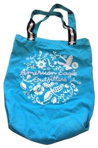 American Eagle Outfitters Blue Beach Bag