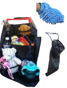 Cool Besty Car Travel Set- Toy Organizer - Car Trash Bag & Wash Mitt