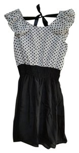Other short dress Black/White on Tradesy