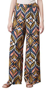 Harlyn Wide Leg Pants Print, Blue, Pink