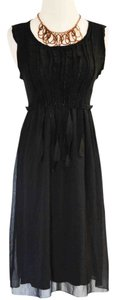 Zara short dress Black Lbd Knit on Tradesy