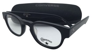 Converse New CONVERSE Eyeglasses Z001 UF 46-22 140 Matte Black Frame w/ Clear Demo Lenses