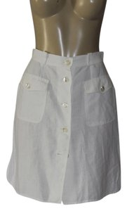 Max Mara Mini Skirt white