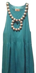 MILLY short dress Turquoise on Tradesy